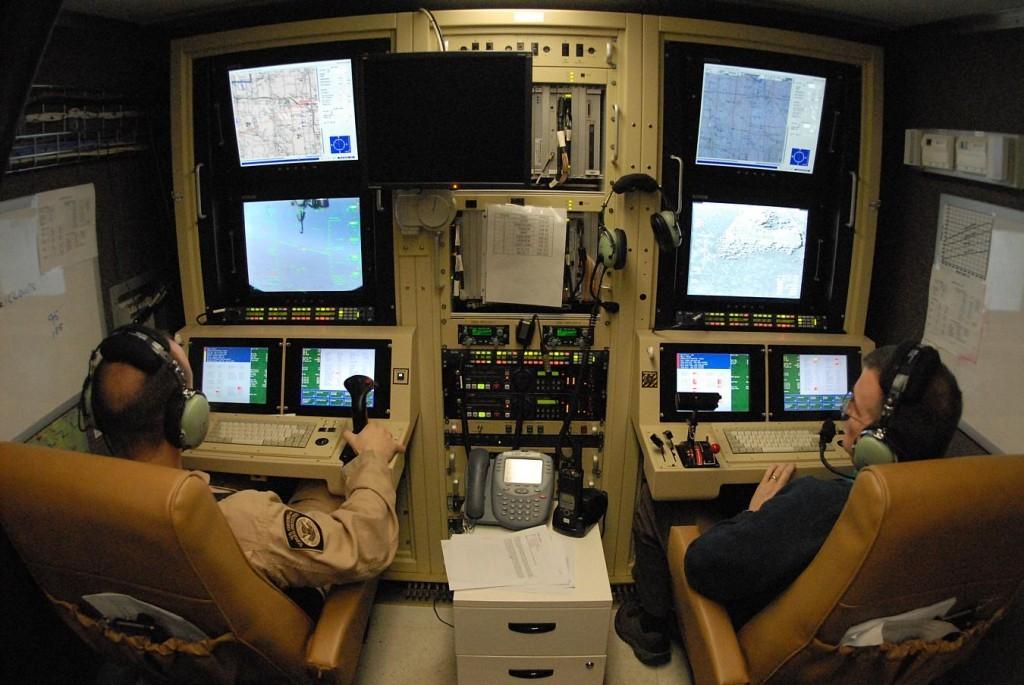 sala pilotaggio rpv
