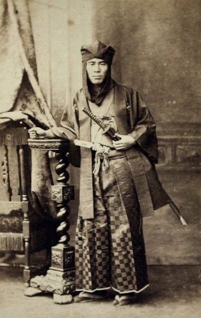 Japanese-Warriors-in-the-middle-late-1800s-11