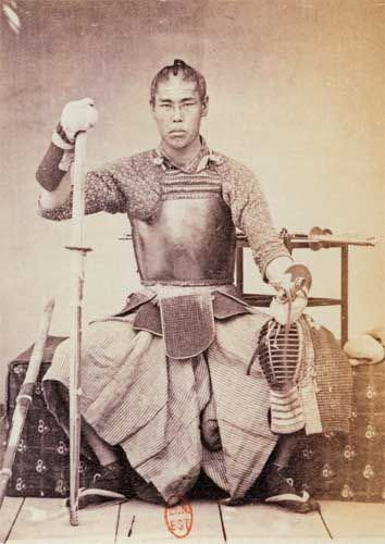 Japanese-Warriors-in-the-middle-late-1800s-18