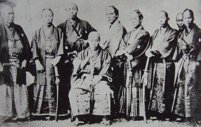 Japanese-Warriors-in-the-middle-late-1800s-5