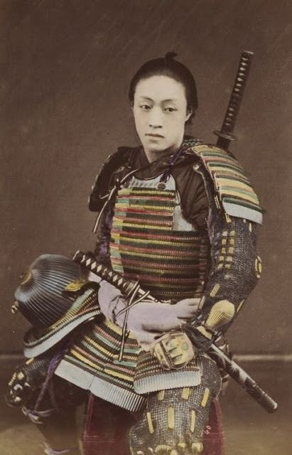 Japanese-Warriors-in-the-middle-late-1800s-6