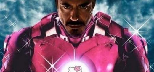 Tony Stark Iron-Man - Hello Kitty version