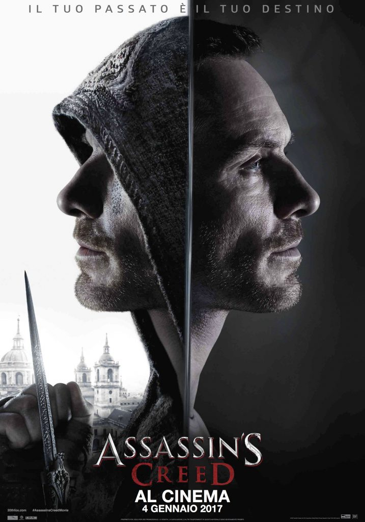 Poster Assassin's Creed -Recensione Film