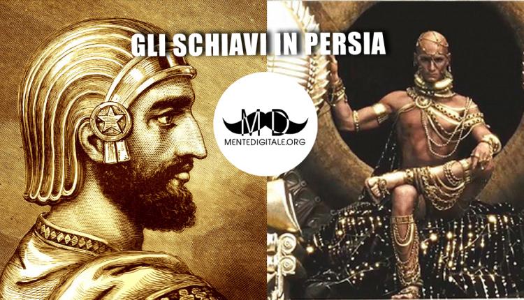 Gli schiavi in Persia